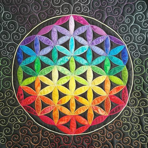 """Flower of Life Mandala/ DST-Kit 10"""""""