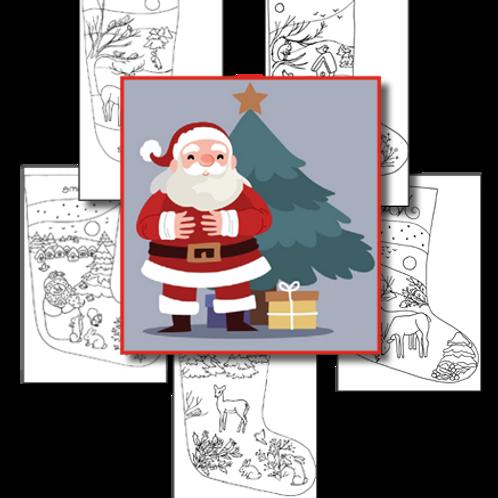 Christmas Stockings / Simple Design