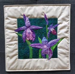 Orchid Flower Pillow