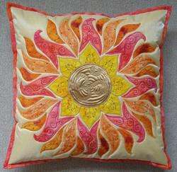 Sun Mandala Pillow