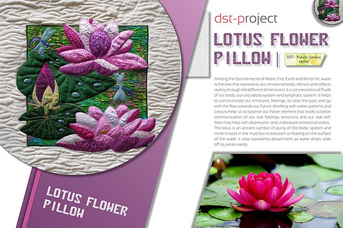 Lotus Flower Pillow / DST-pattern