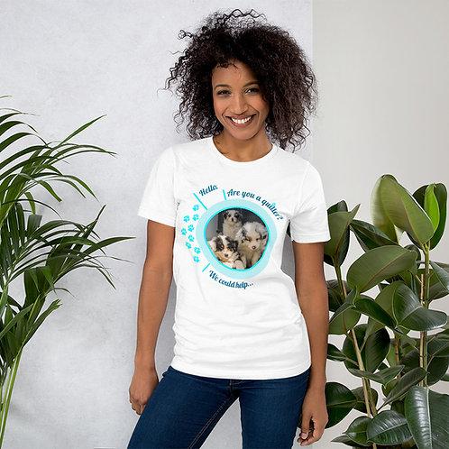 Hello Puppies - Short-Sleeve Unisex T-Shirt