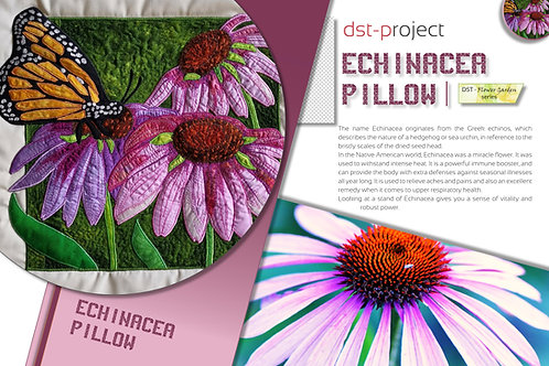 Echinacea Pillow / DST-pattern