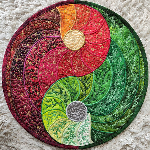 """Yin Yang Mandala"" / DST-Kit"
