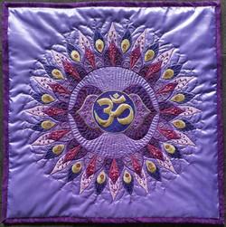 6th Third Eye Mandala Pillow