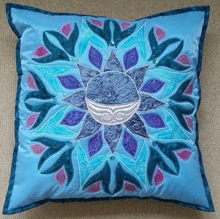 Moon Mandala Pillow