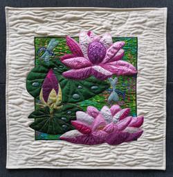 Lotus Flower Pillow