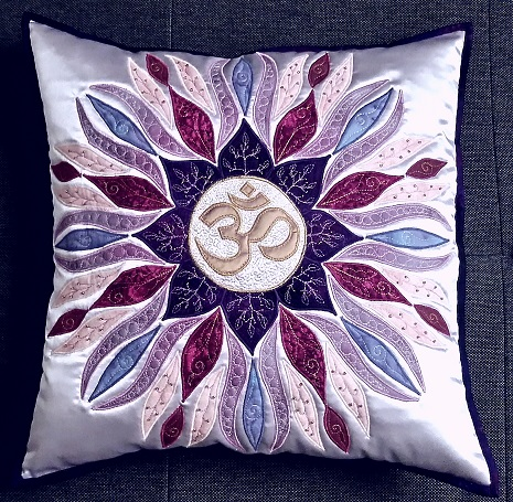 OM Mandala Pillow