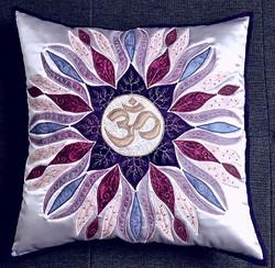 OM Mandala Pillow