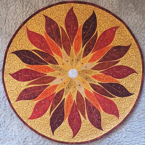 Radiance Mandala / DST-pattern w. interfacing