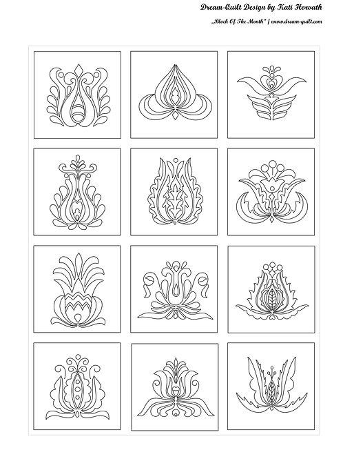 Hungarian Tulips / Simple Design