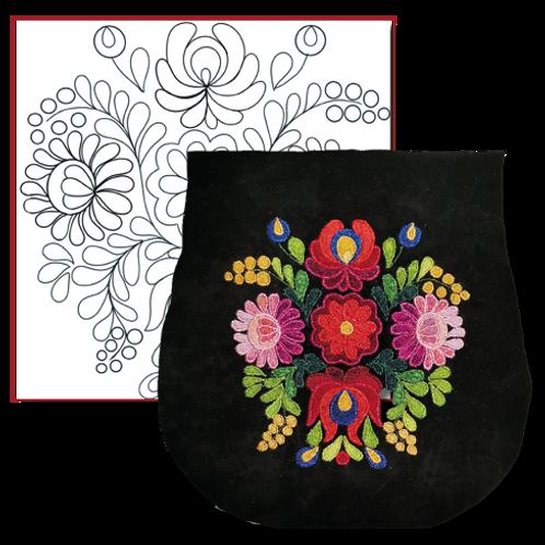 Matyo Folk Motif -1 / Simple Design