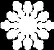 Biały Snowflake 3
