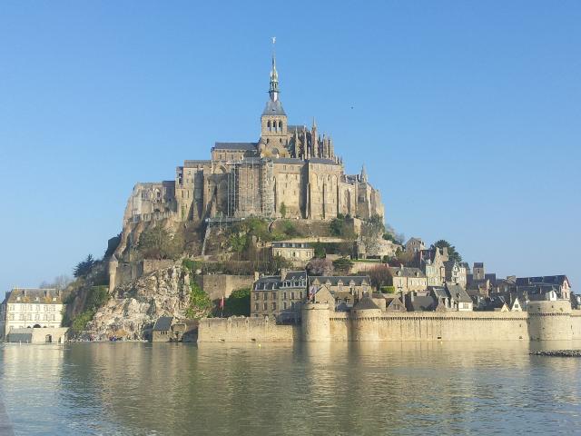 Mont St-Michel grandes marées