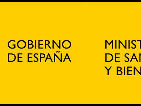 ICIIN Y EL MINISTERIO DE SANIDAD CONSUMO Y BIENESTAR SOCIAL