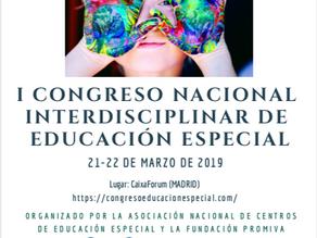 I Congreso Nacional Interdisciplinar de Educación Especial