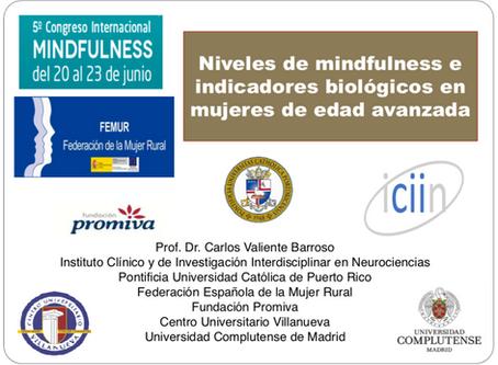 NIVELES DE MINDFULNESS E INDICADORES BIOLÓGICOS EN MUJERES DE EDAD AVANZADA