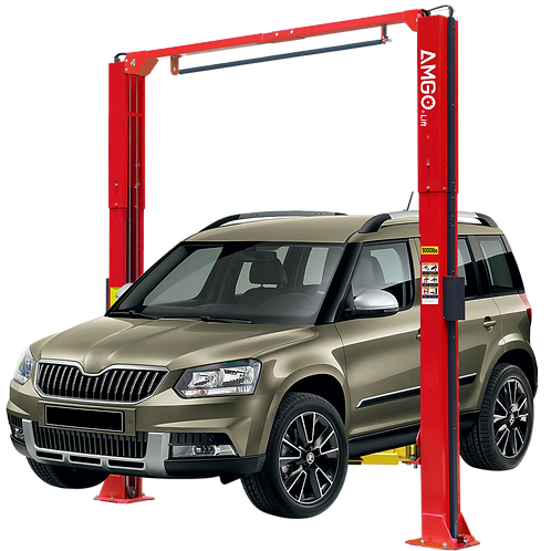Amgo PRO OH-9H EXTRA TALL 2 Post Lift