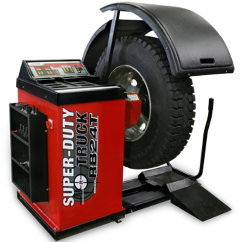 RB24T Super‐Duty Truck Wheel Balancer with Drive‐C