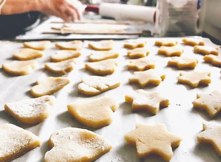 Ciasteczka orkiszowe z kasztanami jadalnymi