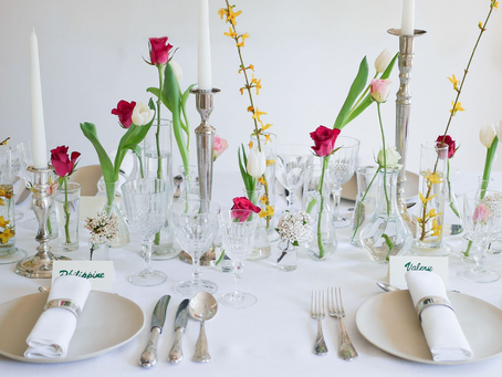 How to set a stylish Easter table