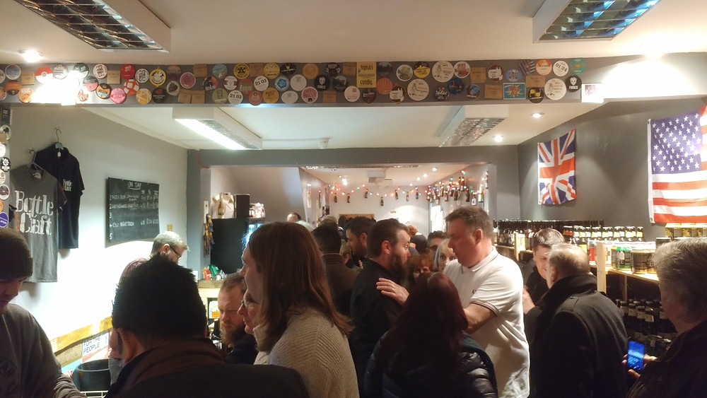 Mart's Craft Beers launch at BottleCraft