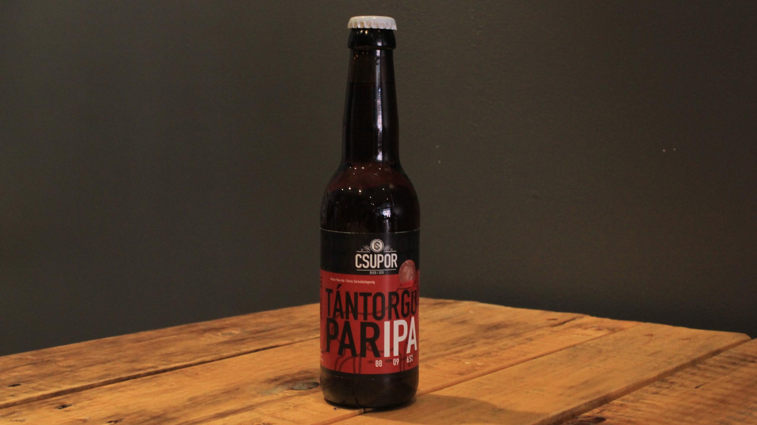 Beer #6: Csupor - Tántorgó ParIPA