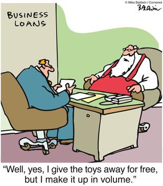 Santa's Flawed Business Model