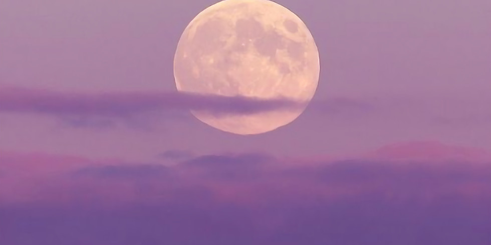 July Full Moon Beach Meditation