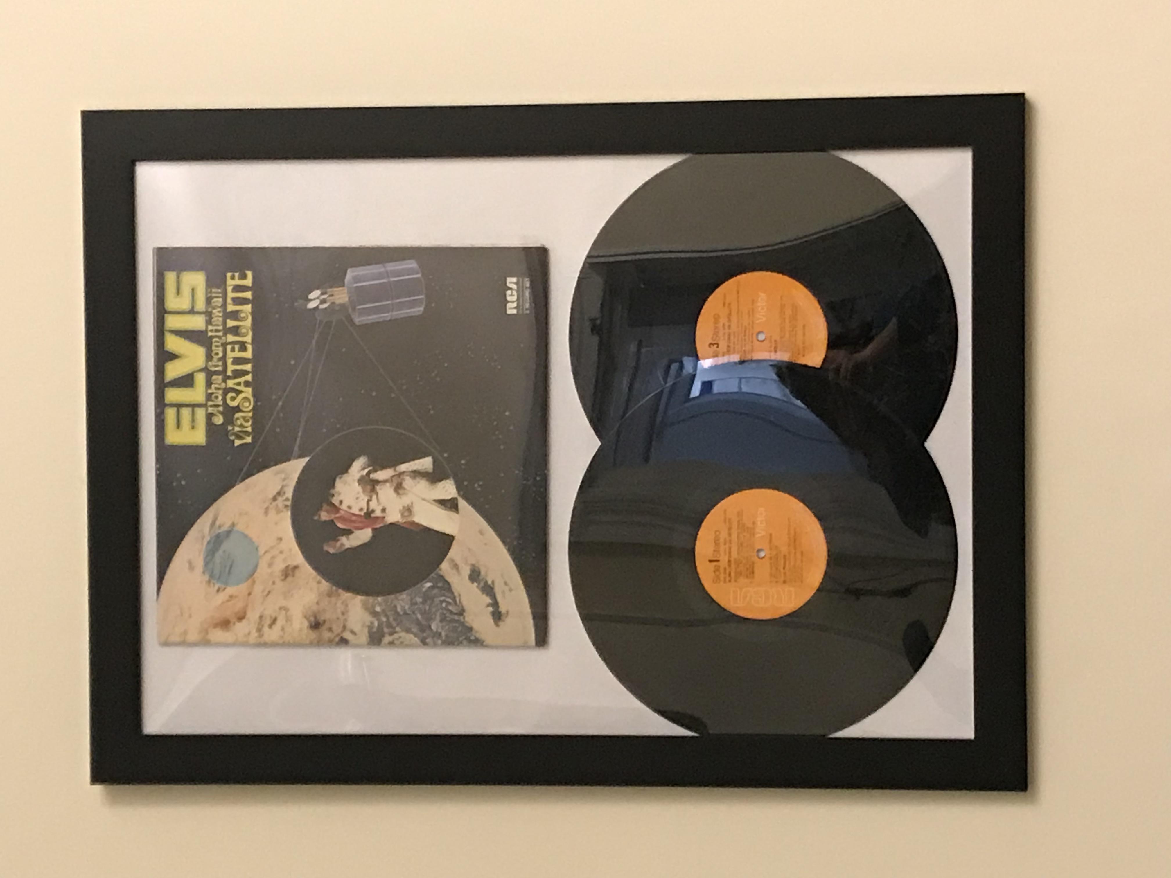 Framed Vintage Vinyl