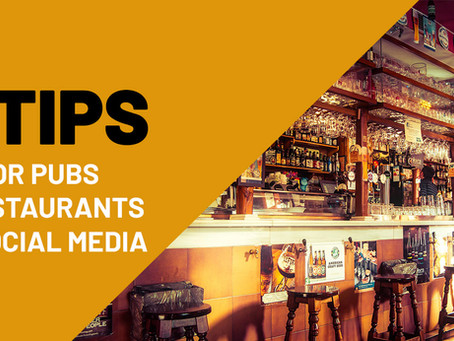 4 surprising social media tips for pubs and restaurants