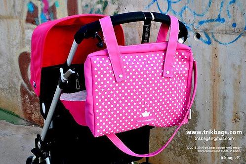 Trik 34_Ooz (pink) Bolso + Estuche (Bajo pedido)