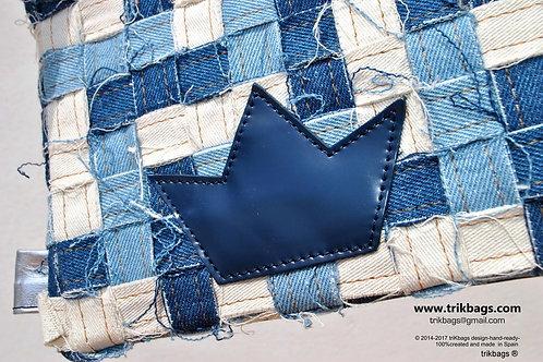 Trik 45_Jeans Multi mini estuche mixed piel (Muestra)
