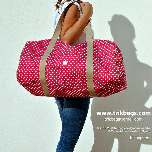 trik_34 Dots & North Maxi (pink) (Bajo pedido)
