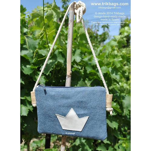 trik_10 Sac Blue Mini bolsito