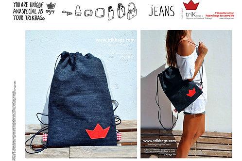 trik_05 Jeans Basic red M