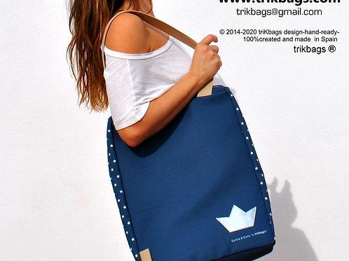 trik_35 Stars Blue+( Bolso cerrado superiormente)