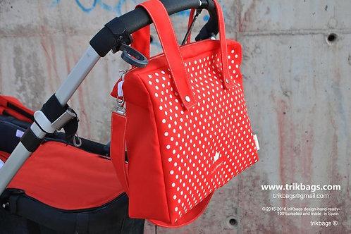Trik 34_Ooz (red) Bolso + Estuche (Bajo pedido)