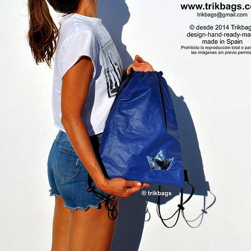 Trik 42_Biker blue M ( nylon reflectante )