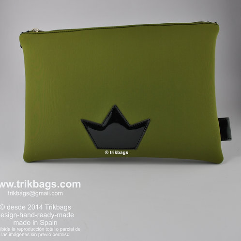 Trik 42_Neoprene _New caqui Mini estuche tamaño XL