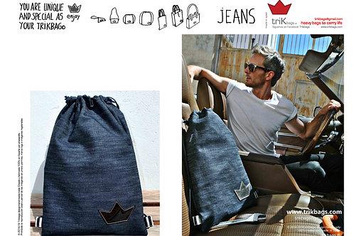trik_05 Jeans Basic Black M