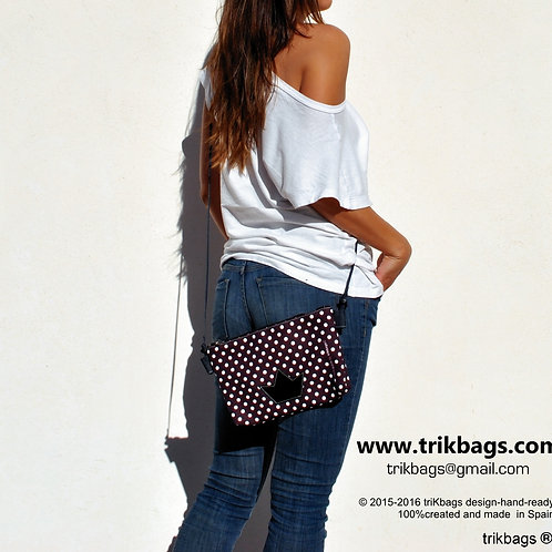 trik_34 Dots & North Minibolsito (wine) (stock)