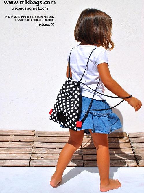 Trik 41_Lola Lunares&Negro S Mochila niño