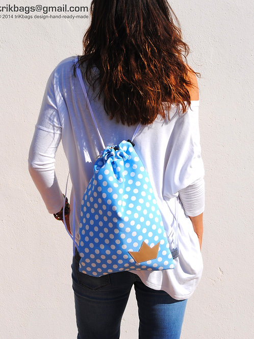 Dots Sarah Big blue M (Bajo pedido)