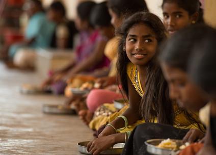 Girls at Coimbatore, India