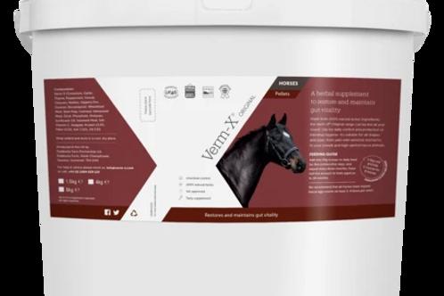 Verm-X granulé 4kg pour 16 chevaux