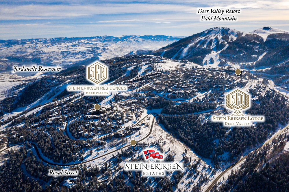 Stein Eriksen Estates, located in the Silver Lake area of Deer Valley.