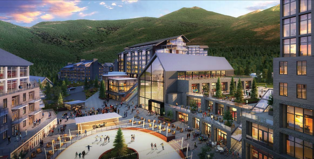 Mayflower Mountain Resort - Rendering