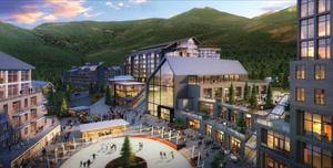 Mayflower Mountain Resort - Rendering