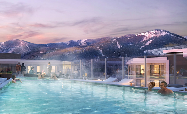 Roof Top Pool at Pendry Residences Park